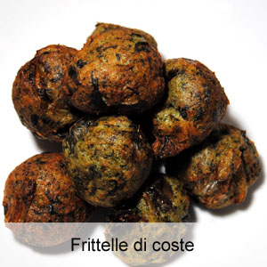 frittelle di coste - ostematto.it - Cucinare Bieta