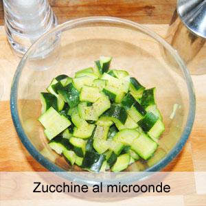 Zucchine al microonde - Cucinare con il microonde whirlpool ...