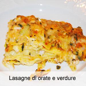Lasagne Di Orate E Verdure Ostemattoit