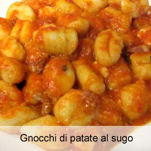 Ricetta Gnocchi Di Patate Con Sugo.Gnocchi Di Patate Al Sugo Ostematto It