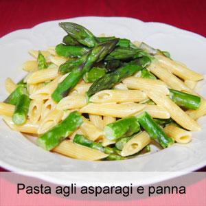 ricetta pasta asparagi e panna