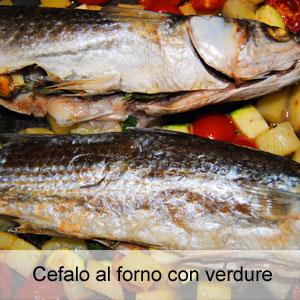 Ricette con il pesce cefalo